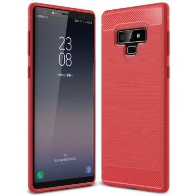 Anti-fall Matte Phone Case for Samsung Note 9 - RED