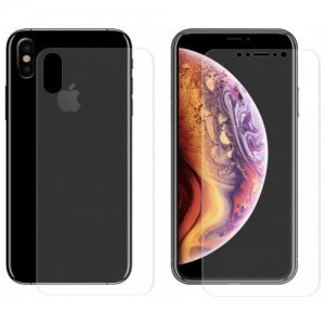 Hat-Prince Tempered Glass Full Screen Protector for iPhone XS - Max - TRANSPARENT