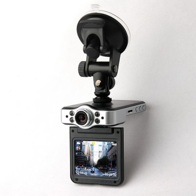 CUBOT X8L Car DVR 720P HD GPS Motion Detection Night Vision HDMI Dual Camera