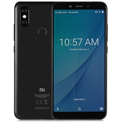 Xiaomi Mi A2 4G Phablet 4GB RAM Global Version - BLACK