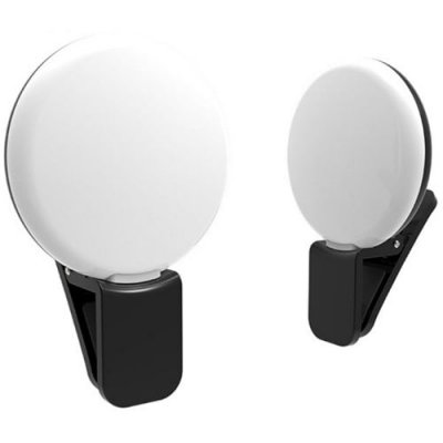2018 Natural Mini Portable Selfie Led Flash Photo Camera Ring Light for Iphone Samsung Lithium-Ion Polymeter Battery -