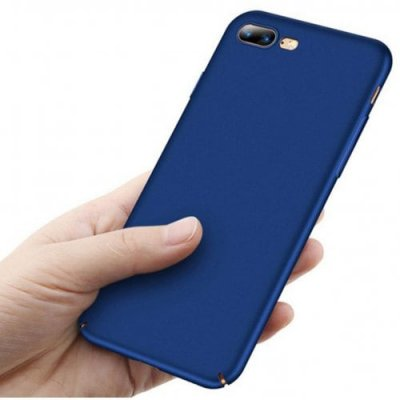 Hard Plastic Full Protective Anti-scratch Resistant Cover Case for iPhone 12 Pro Max - 12 Pro Max - BLUE