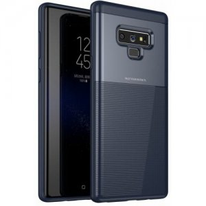 Case for Samsung Note 9 Luxury Armor TPU and PC Hybrid Phone Back Cover - CADETBLUE