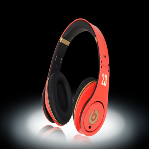 Beats By Dr Dre LeBron James Red Limited Edition Headphones