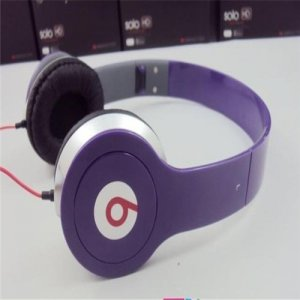 Monster Beats By Dr. Dre Solo HD Headphones Mini Purple