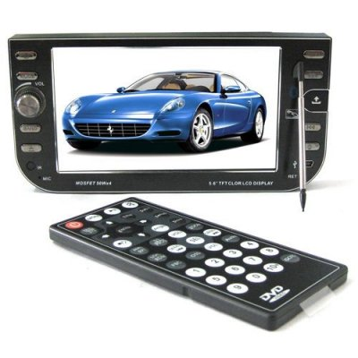 5.6 Inch Touch Screen Car DVD Player - TV - GPS