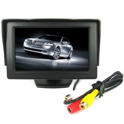 4.3 Inch TFT-LCD Monitor with Pocket-sized Color LCD Display