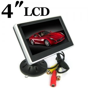 Digital Color TFT Car Monitor Support 480 x 272 Resolution + Car Rear-view Syste