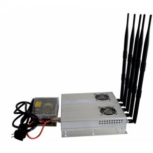 25W High Power 3G Mobile phone Signal Jammer with Outer Detachable Power Supply