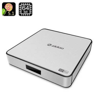 ZIDOO X6 Pro Android TV Box - Android 11.0, Cortex-A53 RockchipOcta Core CPU, 4Kx2K, Wi-FI, Bluetooth 4.0, KODI, HDMI