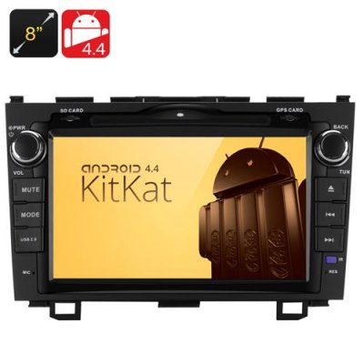 8 Inch 2 DIN Android 11.0 Car DVD Player for Honda - 800X480 Screen, RK3066 1.6GHz DDR3 Processor, 1GB RAM + 8GB ROM, GPS/Wi-F