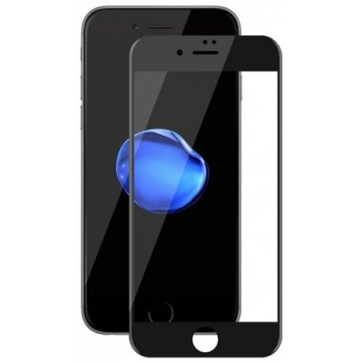 Hat - Prince 6D 0.26mm 9H Tempered Glass Full Screen Protector for iPhone 7 Plus - 8 Plus - BLACK