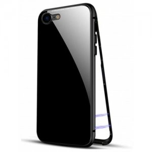 Ultra Slim Magnetic Adsorption Metal Case for IPhone 6 - 6S phone case - BLACK