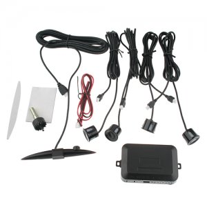 Car Parking Reverse Backup Radar 4 Sensor System