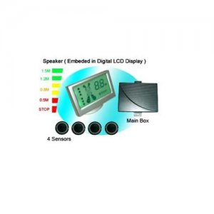 SRD058C4 Speaker Colorful LCD Display Parking Sensor