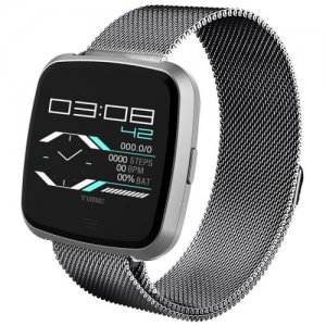 G12 Smart Bluetooth Bracelet Multifunction Sports Smartwatch - SILVER