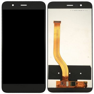 LCD Screen Digitizer Full Assembly for Huawei Honor V9 Black - BLACK