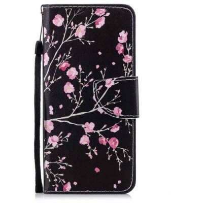 For Samsung S9 Red Safflower Painting Phone Case - BLACK