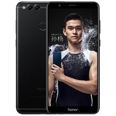 HUAWEI Honor 7X 4G Phablet Global Version - BLACK