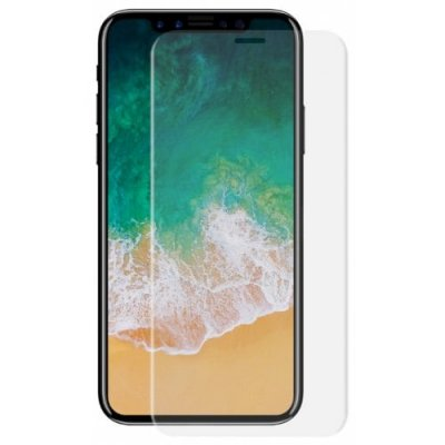 Hat-Prince Toughened Color Film for iPhone X - TRANSPARENT