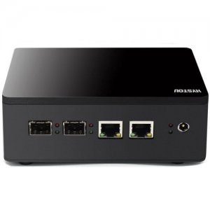 HYSTOU MP12 - J1900 Mini PC - BLACK