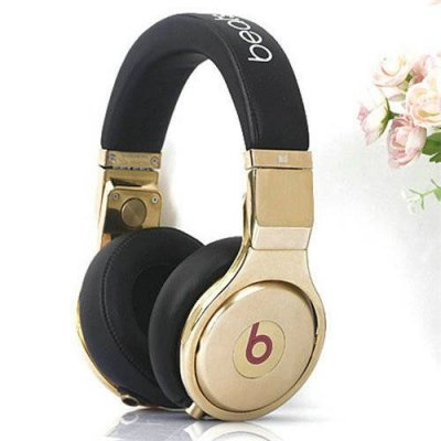 Beats By Dr Dre Pro High Performance 24K Headphones Black