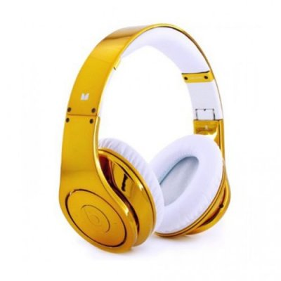 Beats By Dr.Dre Studio Electroplating Colorware Chrome Limited Edition (Gold)
