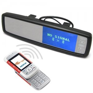 4.3 Inch TFT LCD Screen Car Rear View Mirror Monitor with Wireless Call Function