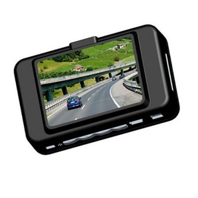 2.5 Inch TFT Screen 720P Car DVR with Night Vision + 140 Degree Wide View Angle