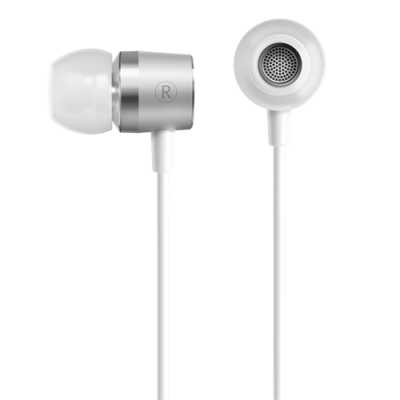 Original Oneplus Silver Bullet Earphone 3.5mm In-ear Stereo Earphone with Mic