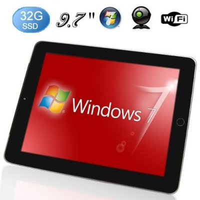 9.7 Inch Capacitive Multi-touch Screen Intel ATOM Processor N455 windows 10 Table