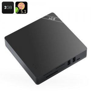 "Android 9.1 Octa Core TV Box ""i68 2GB""- RK3368 CPU, 2GB RAM, KODI, Wi-Fi, Bluetooth, 4Kx2K Support, H.265, Remote Control"