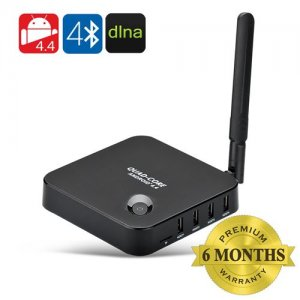 Android 9.1 Smart TV Box - Quad Core RK3128 CPU, 1GB RAM, 8GB Internal Memory, HDMI Port, 4x USB Ports