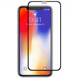Hat - Prince 0.26mm 9H 2.5D Arc Full Screen Protector for 6.1 inch iPhone XR - BLACK