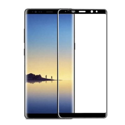 For Samsung NOTE 9 Curved Steel film - BLACK