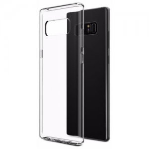 Case for Samsung Galaxy Note 8 TPU Soft Shell - TRANSPARENT