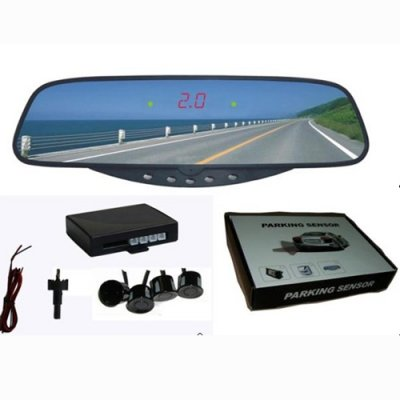 RD017C4 Rearview Mirror LED Display Parking Sensor System