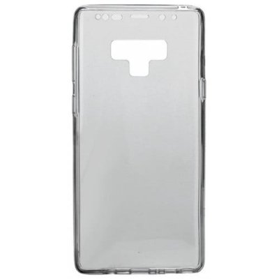 Crystal Transparent 360 Full Hybrid Soft TPU Cover Case for Samsung Note 9 - GRAY CLOUD