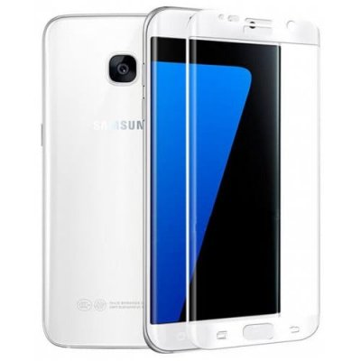 For Samsung Galaxy S7edge 9H High Strength Anti Shatter Toughened Glass Film - WHITE