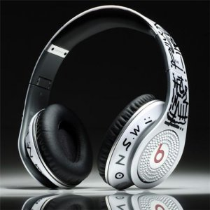 Beats By Dr. Dre Studio Graffiti Limited Edition Over-Ear Headphones With Diamond