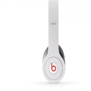 Beats By Dr Dre Solo HD High Definition On-Ear White Headphones