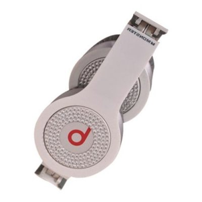 Beats By Dr Dre Solo White Diamond Headphones White