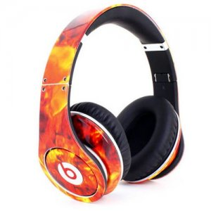 Beats By Dr Dre Studio Flame Headphones