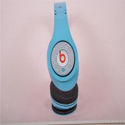 Beats By Dr. Dre Studio Limited Edition Blue With Diamond