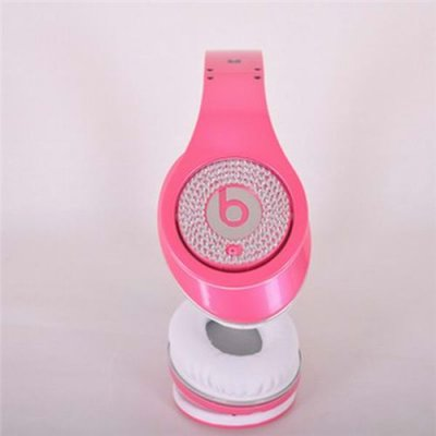 Beats By Dr. Dre Studio Limited Edition Pink With Diamond