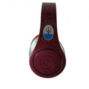 Beats by Dr. Dre Studio Maserati Limited Edition Dark Red Over-Ear Headphones