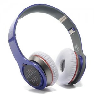 Beats By Dr Dre Solo 2 High Performance Wireless Bluetooth Over-Ear Blue Headphones
