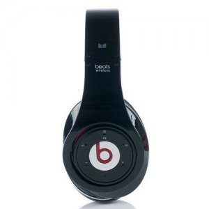 Beats By Dr Dre Studio Wireless Bluetooth Over-Ear Black Headphones