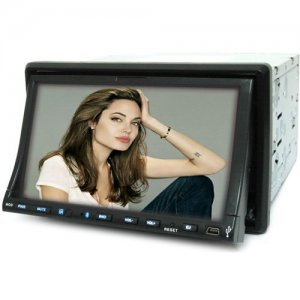 7 Inch Touch Screen Car DVD Player - GPS - TV - Two DIN