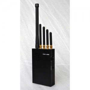 3W Portable Phone Jammer & LOJACK & GPS Jammer